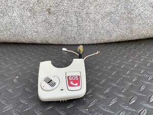 ✔MERCEDES W220 W215 CL500 S500 S430 S600 REAR VIEW MIRROR TRIM / SOS SWITCH OEM