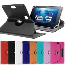 """Leather Portfolio Case Cover Skin for Dragon Touch 10.1"""" Tablet 16GB Quad Core"""