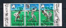 Guyana 1968 W.I.Cricket Tour SG 445/7 CTO