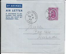 GRENADA 1953 COVER