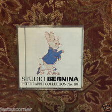 Peter Rabbit Embroidery Designs Card 104 Bernina Bernett Deco Brother Baby Lock