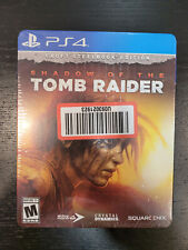 Shadow of The Tomb Raider - Croft Steelbook Edition Ps4 (Sealed, Brand New)