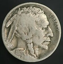 1918-S Buffalo Nickel 2 Feather Variety Error FS-401 Nice Vintage Nickle! GC130