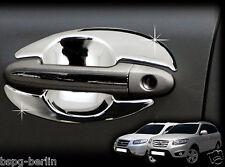 Accesorio para HYUNDAI SANTA FE 2006-2012 Tiradores de puertas HUECOS Hoyo La