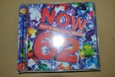 NOW THAT`S WHAT I CALL MUSIC 62       DOUBLE  CD      FREE POSTAGE   2005