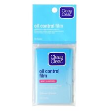 Hot! Clean & Clear Blotting Paper Oil Control Film Won't Clog Pores 60 Sheets