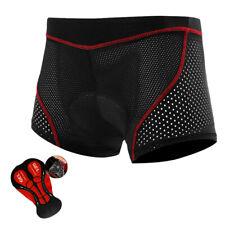 Men's Cycling Underwear Padded Cycling Shorts Lycra Shockproof MTB Road Shorts
