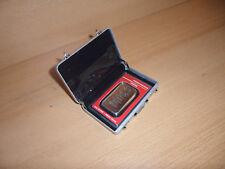 Silberbarren Heraeus 1 ounce  im robusten mini Alukoffer