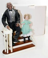 NIB SHIRLEY TEMPLE AND BOJANGLES DANBURY MINT DOLL FIGURINE / EXTREMELY RARE !!