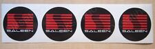 4* Saleen Ford Mustang wheel caps Sticker Vinyl Decals Self Adhesive Emblem_1163