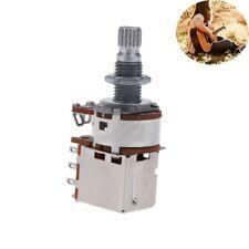 2pcs A500K Guitare électrique Pot De Contrôle Push Pull Pièces De Basse