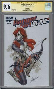 Danger Girl G.I. Joe 2 & 3 J. Scott Campbell Signature Series CGC 9.6 & 9.0