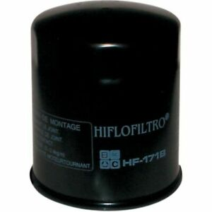 Hiflofiltro Black Oil Filter For Harley Twin Cam Models 99-16/ Buell 1200 94-02