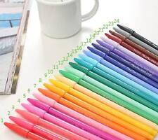 1 SET 24 pcs NEW  0.3mm fresh watercolor pen colorful gel pen ASSORTED COLORS