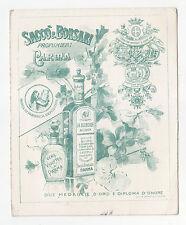 V51-PARMA-SACCO E BORSARI PROFUMIERI CART.PUBBL.