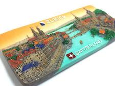 Zurich Switzerland SOUVENIR RESIN 3D FRIDGE MAGNET SOUVENIR TOURIST GIFT 099