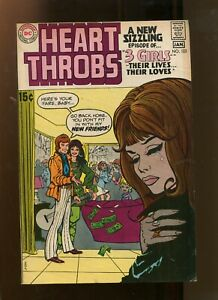 HEART THROBS #123 (7.0) NEW FRIENDS! 1970