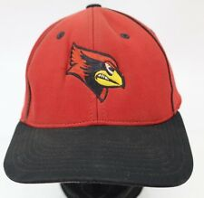 Cardinals Baseball Cap Fitted Hat Red Black Size 6 7/8 -7 3/8