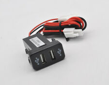 aux in Dual USB Charger Audio Port For Toyota tocama 2005-2011 tundra 2005-2007