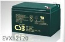 BATTERY FOR GOLD TECHNOLOGIES BUZZAROUND LITE MODEL GB107D 3 WHEEL SCOOTER 2 EA.