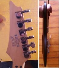 guitare ibanez sabre noire 6 cordes