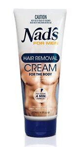 Nad's For Men Body Hair Removal Cream 6.8 oz