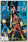 Flash #18 VFNM- Signed w/COA by Barbara Randall Kesel 1988 DC Comics