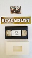 SEVENDUST Promo Lot  VIDEO STICKER TRADING CARD Rare Waffle Clip 1999