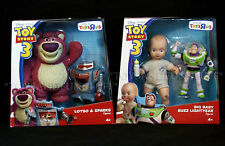"New TOY STORY 3 Posable 7"" Figures LOTSO Sparks BIG BABY Buzz Lightyear ToysRUs"