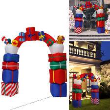 6.6' Inflatable Santa Arch Archway Christmas Garden Yard Decor Airblown Ornament