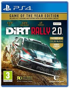 OPEN PACKAGE SPECIAL - Dirt Rally GOTY Edition (Playstation 4 PS4)