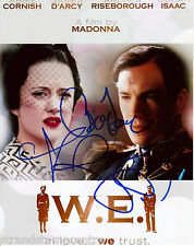 "W.E Film - Colour 10""x 8"" Triple Signed Promo Print - UACC RD223"