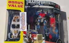 TransFormers Dark Of The Moon Dotm Autobot Optimus Prime + Comettor figure Excls