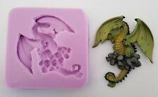 Drachen Silikonform für Kuchendekoration, Schokolade, Ton Etc