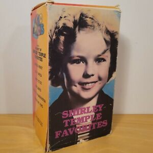 The Best of Shirley Temple Favorites (3 VHS cassettes) Fun With Shirley Kid Pics