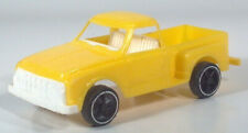 """Vintage Gay Toys Chevy Stepside Pickup Truck 6.75"""" Plastic Scale Model Yellow"""