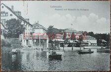 Lobenstein Gondelstation Kurhaus Postkarte 1910 Thüringen