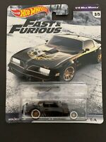 HOT WHEELS 2019 FAST AND FURIOUS PREMIUM 1/4 Mile Muscle '77 Pontiac FirebirdT/A