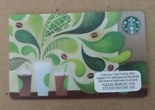 Starbucks Card UK - 2015 HOW TO MAKE COFFEE  **Mint Condition**