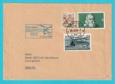 Schweiz aus 1948 MiNr. 469, 500, 508 Sonderst. Hubschrauber Datum 23.9.1948