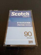 SCOTCH DYNARANGE -  90 Minutes - BLANK CASSETTE AUDIO - NEUF NON SCELLEE !
