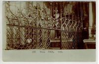 AK Hall in Tirol, Kirche Inneres, Foto-AK 1905