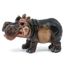 "Little Paws Hettie the Hippo Hippopotamus Figurine Statue 6"" Long New!"