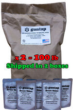 """100 Pounds Stainless Steel Tumbling Media Pins 100lb .047"""" x .255"""" Made in USA"""