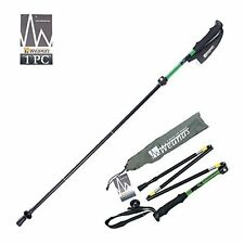 Weanas Packable Collapsible Light Walking Stick Pole Climbing Hiking Alpenstock
