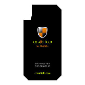 EMF Anti Radiation Shield Plate for iPhone 6/6S/7/8/Plus /X/XR by EMR SHIELD