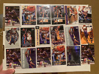 Kobe Bryant Lot Of (18) Cards Los Angeles Lakers