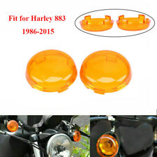 Turn Signal Light Lens Cover For Harley Dyna Softail Sportster XL883 1986-2010