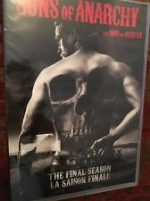 Sons of Anarchy: The Final Season (DVD, 2015, 4-Disc Set) FAST SHIPPING