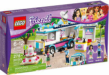 2014 Retired Lego Friends 41056 Heartlake News Van, New & Sealed, Great Gift!